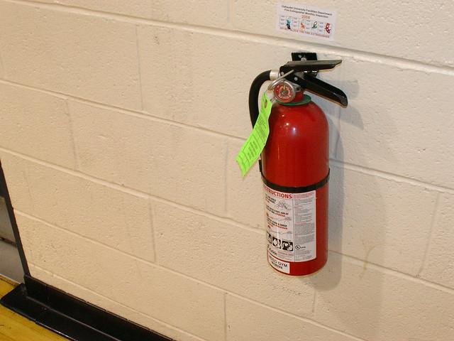 Regular Fire Inspection Fire Extinguisher