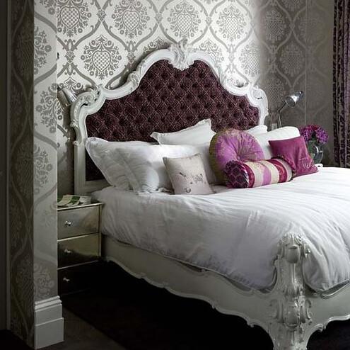 ... Purple White And Grey Bedroom | By BrunchatSaks