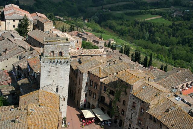 Paisaje de San Gimignano IV