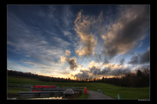 Falkirk Wheel Sky HDR | by Neil_Henderson