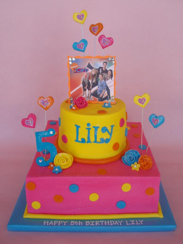 Lilys 5th Birthday Cake My babys 5th birthday cake them Flickr