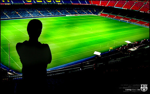 Camp Nou | by ladoblevisera