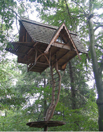 hanging tree house jeff harris flickr