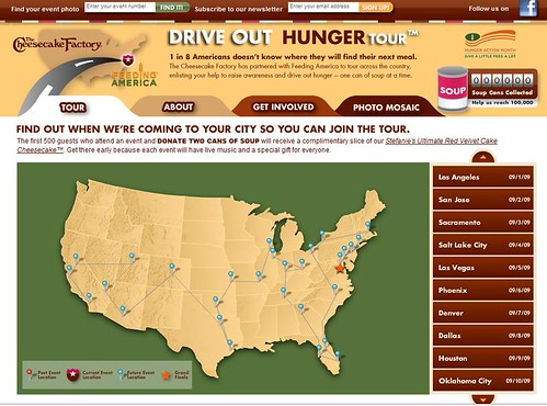 Cheesecake Factory_Free Red Velvet Cake for Can Soup Donations | by HalfEmptyWallet