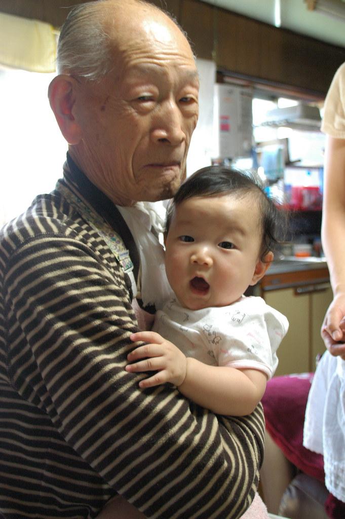 おじいちゃんとひ孫