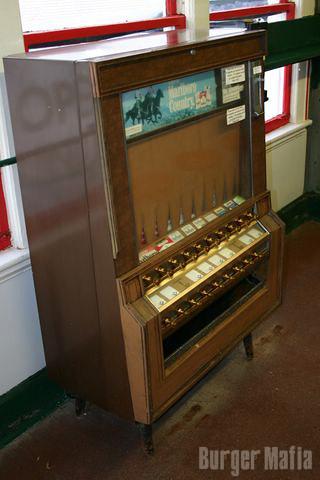 Vintage Cigarette Machine An Old School Cigarette
