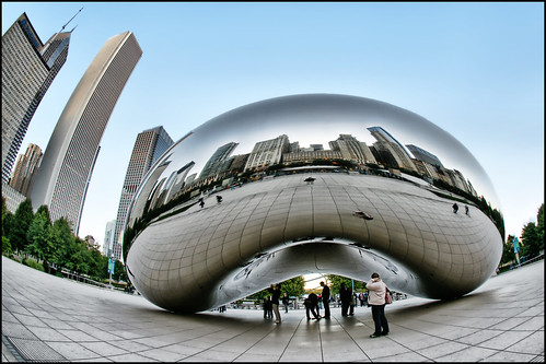 chicago cloud gate bean | by Dan Anderson.