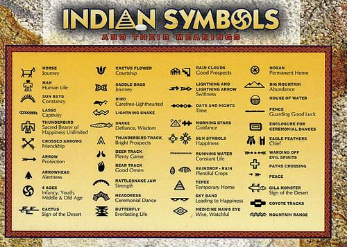 Native American Symbols Ut Karyn Schronski Flickr