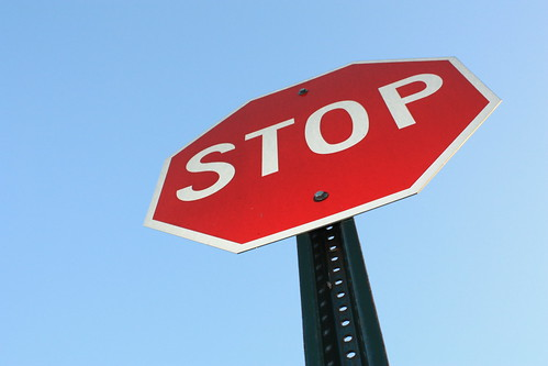 Stop Sign | by thecrazyfilmgirl