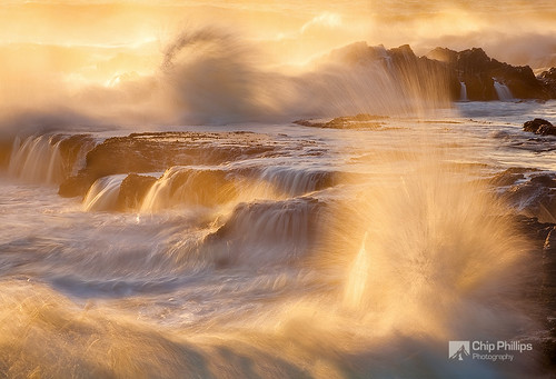 Churning Sea, Yachats Oregon | by Chip Phillips