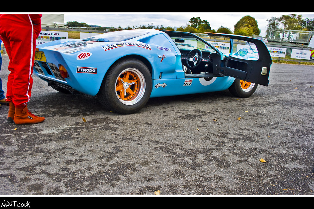 Ford Gt  Gulf Livery Low Side Door Open Shot By Nwvt Co