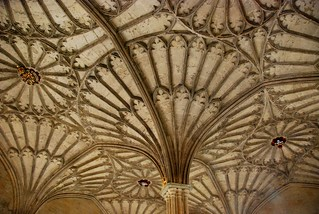 the ceiling of christ church college, oxford | by hopemeng