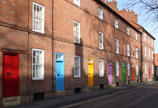 Coloured Doors. | by mazzy43