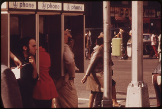 Phone Stalls at Broadway and 34th Street. 05/1973 | by The U.S. National Archives