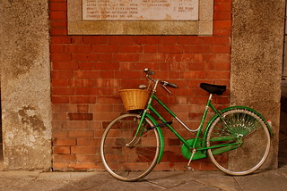 Green Bicycle | by goingslowly