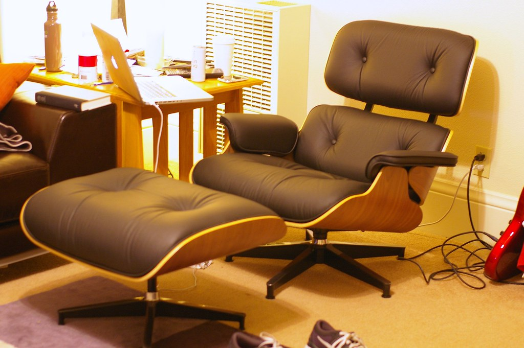 eames lounge chair and ottoman by - Eames Lounge Chair And Ottoman
