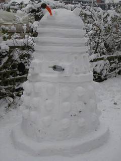 Snow Dalek | by Afraid Of Ducks