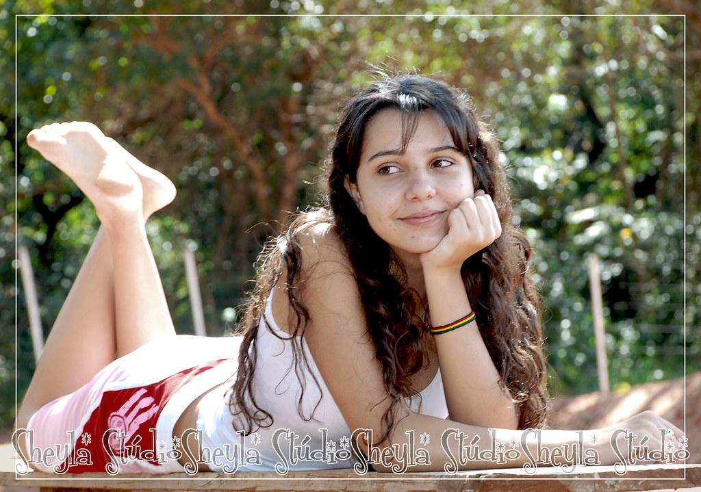 teen Brazilian cute