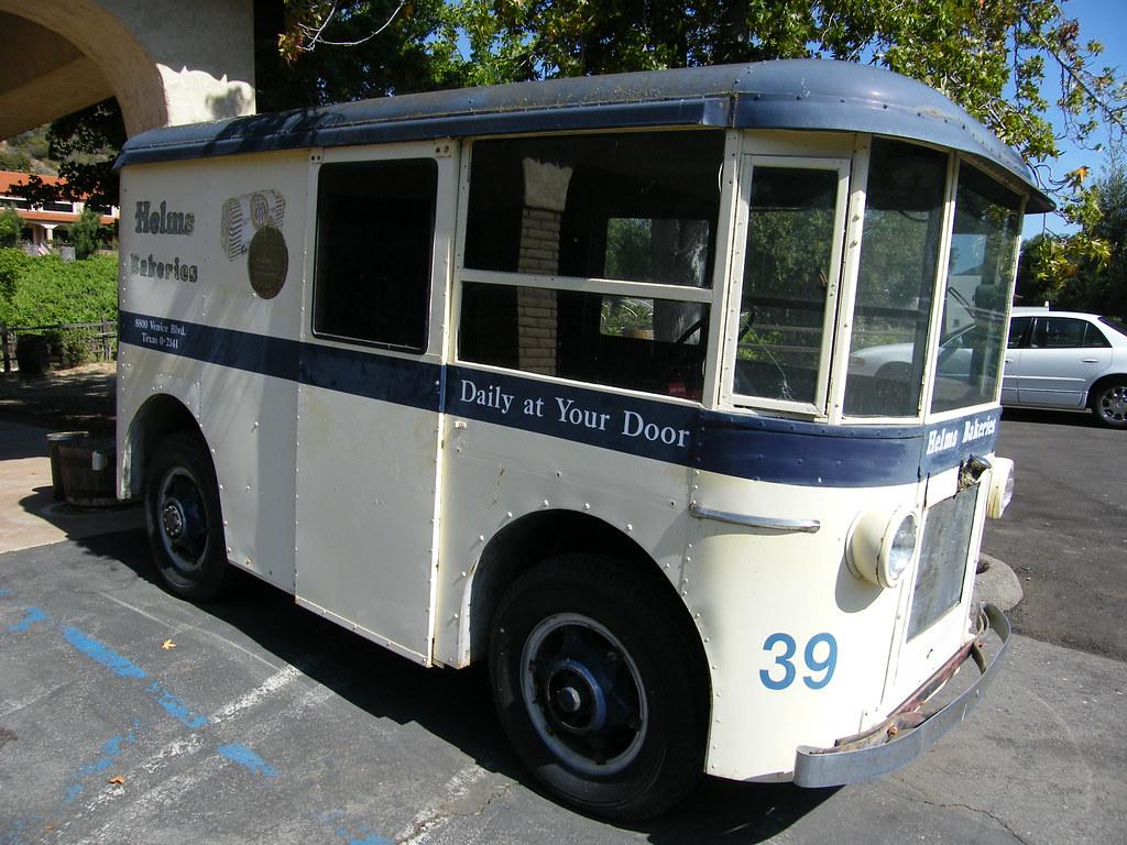 Vintage Bread Truck