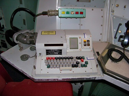 Communications Printer in Launch Control Center | by Ray Cunningham