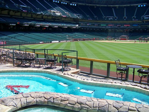 Pool at Chase Field | by Nick Bastian Tempe, AZ