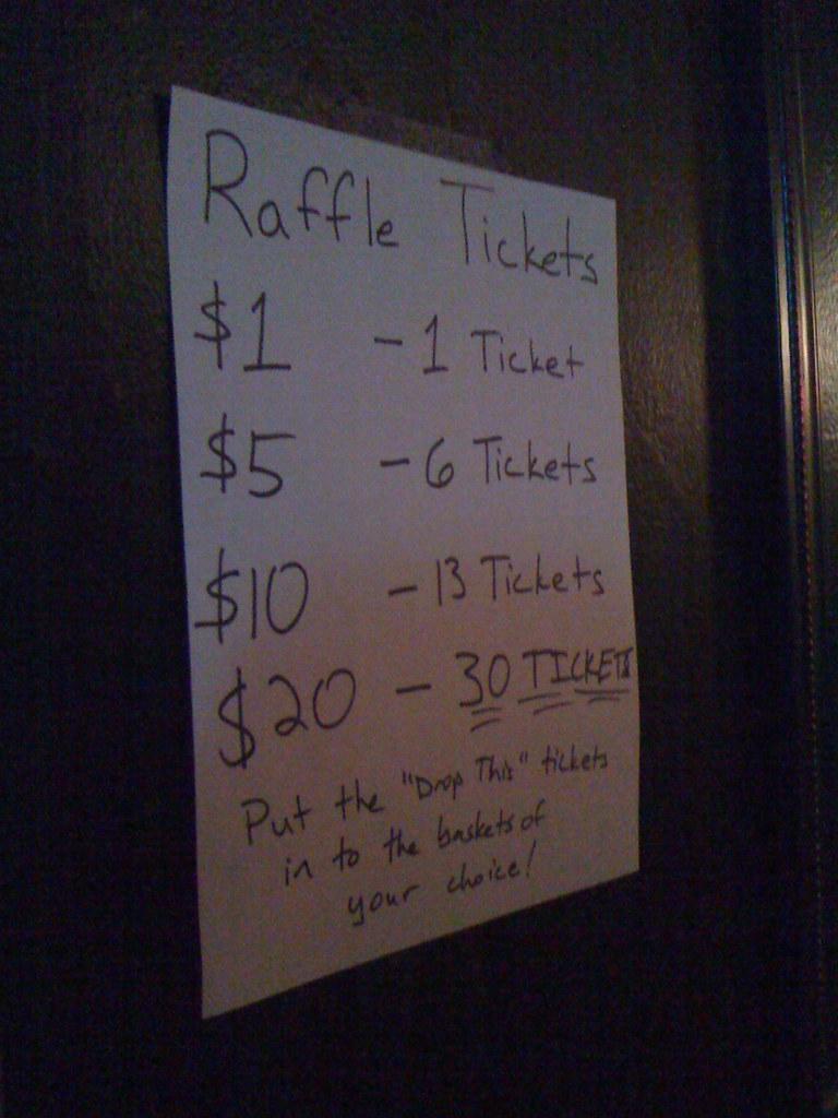 raffle ticket prices by schmarty raffle ticket prices by schmarty