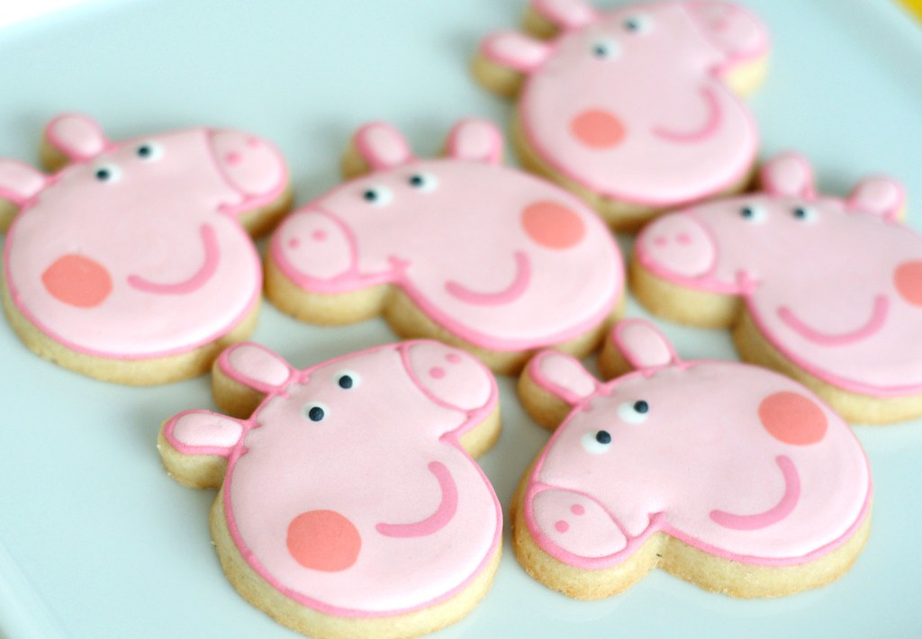Peppa Pig Decorated Cookies Mae Com Acucar Flickr