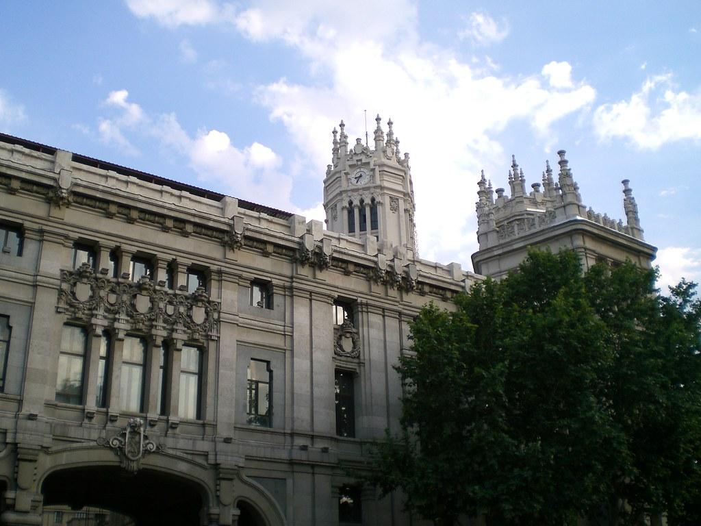 Architettura A Madrid madrid, scorcio di architettura   il trittico   flickr