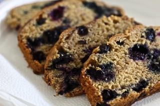 Wheat Free Blueberry Cake