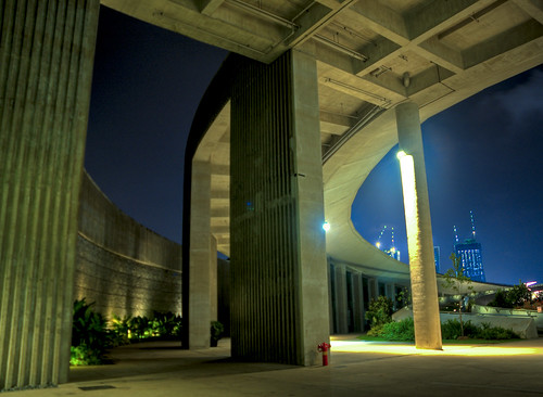 Entering the Marina Barrage | by Sandeep Murali