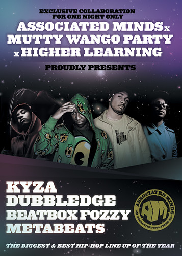 KYZA & DUBBLEDGE FLYER | by AssociatedMinds