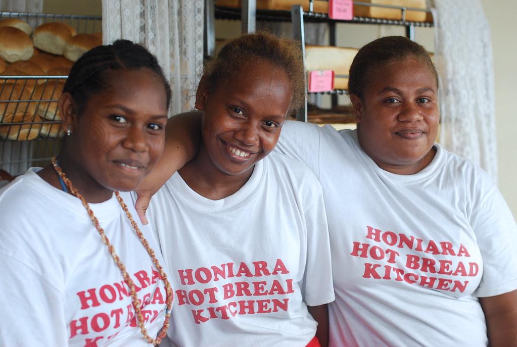 the Honiara Hot Bread Kitchen team | The team at the Honiara… | Flickr