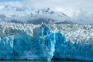 The face of Hubbard Glacier | by Alan Vernon.