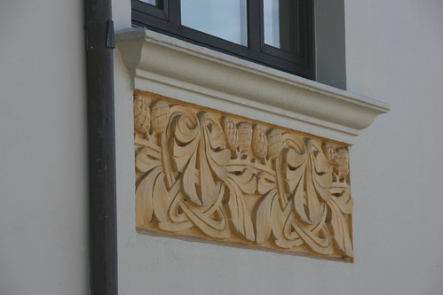 Art Nouveau - House detail | by alfstorm