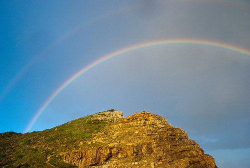 Double Rainbow Over the Cape of Good Hope | by Ugo Cei