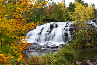 Bond Falls Autumn Surprise Landscape | by Lifeinthenorthwoods.com
