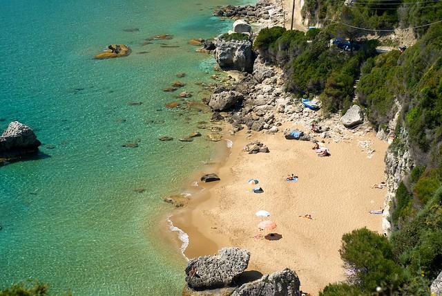 Myrtiotissa Beach, Corfu