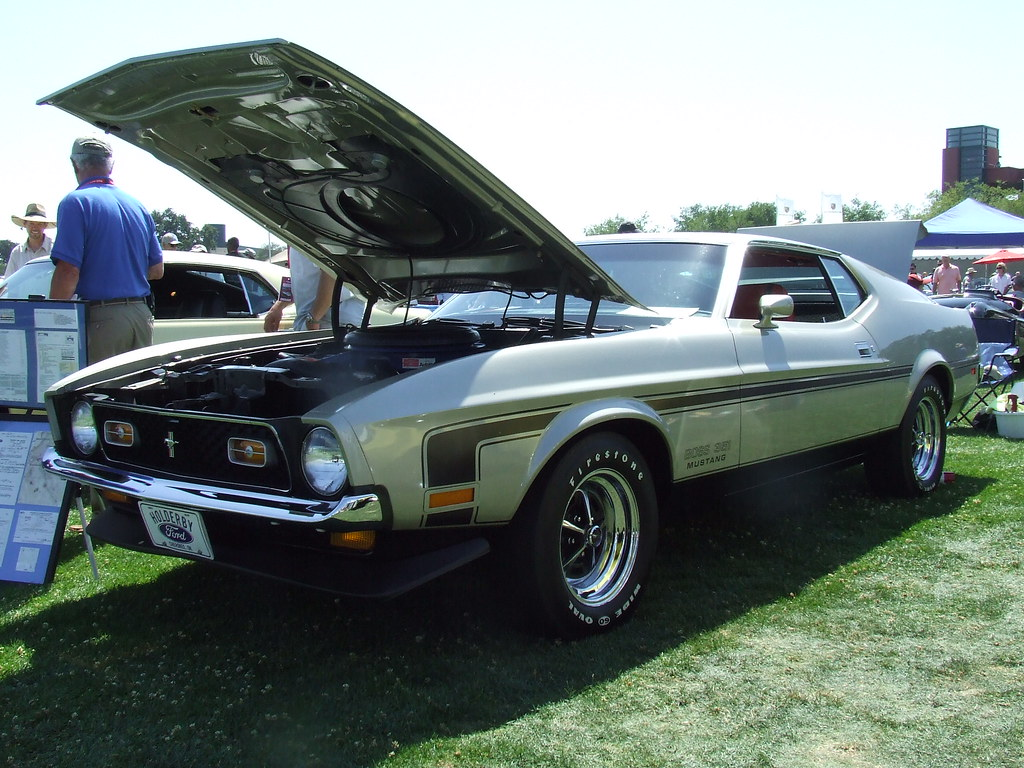 1971 Ford Mustang Boss 351 Hardtop Coupe 2 Jc Jack Snell Flickr By