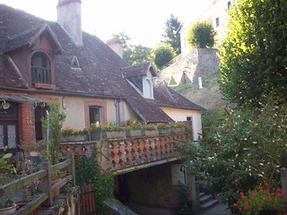 Maison Algira (au fond), de George Sand, Gargilesse, Indre. | by Only Tradition