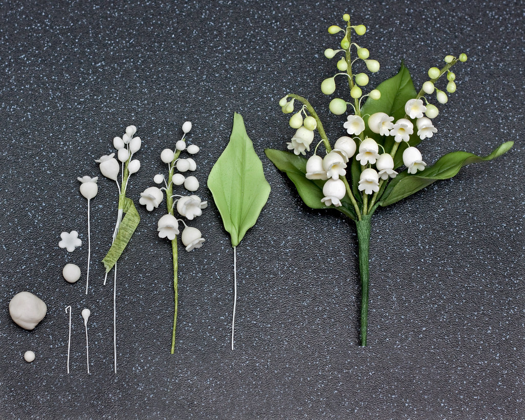 How to make a lily of the valley in sugar not a good photo flickr how to make a lily of the valley in sugar by snowflake70 izmirmasajfo