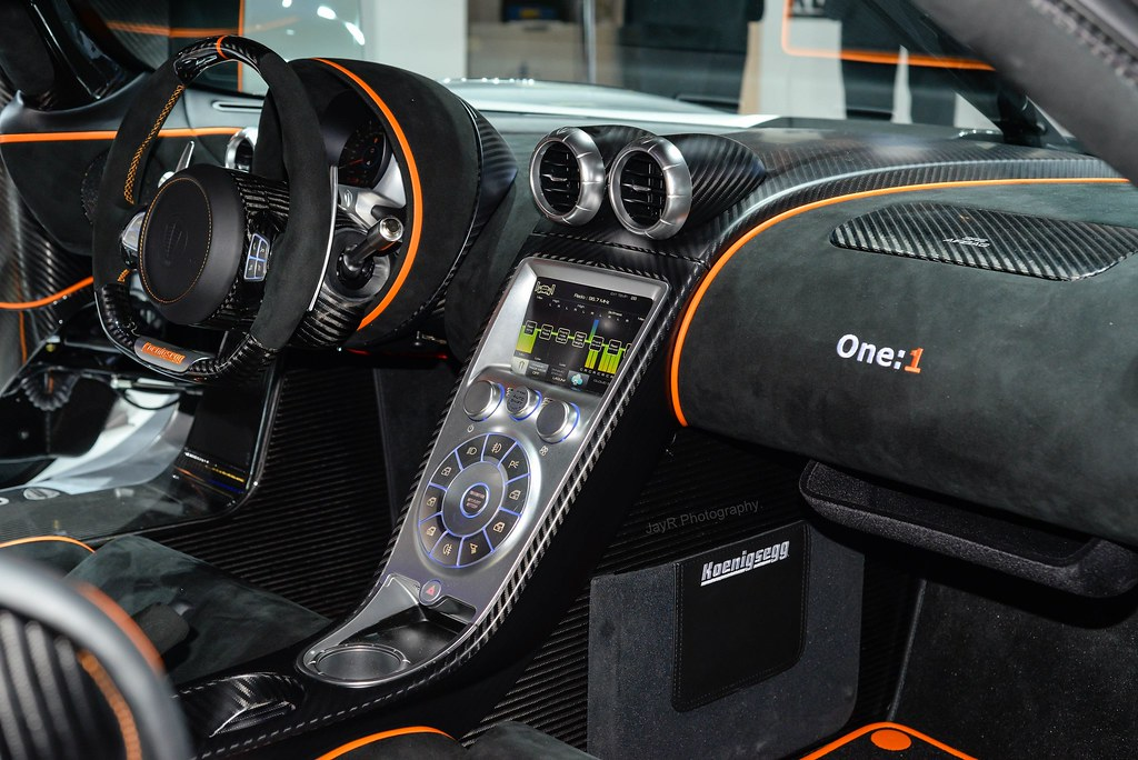Amazing ... Koenigsegg One:1 Interior | By JayRao