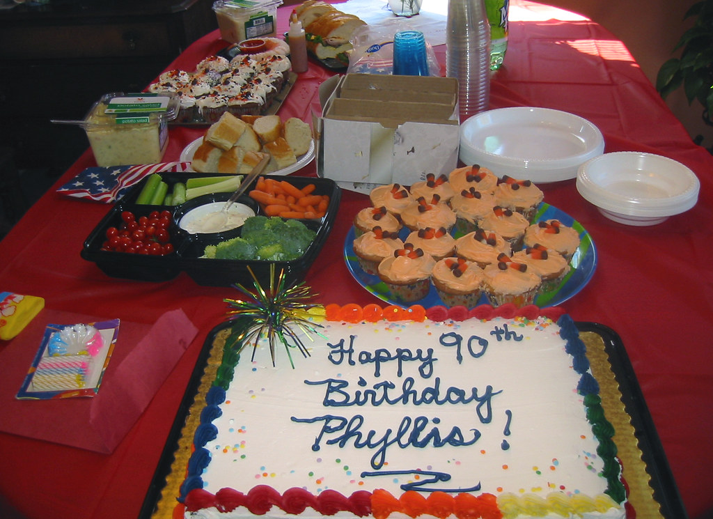 20081019 Grandmas 90th Birthday 170 7032 Food Veg Flickr