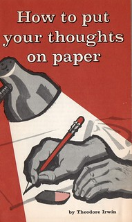 How to put your thoughts on paper- Front Cover | by LordJumper