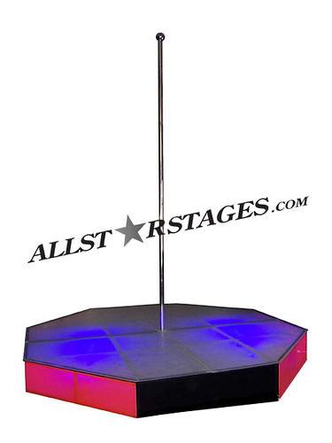 Portable Stripper Pole 10x10    by allstarstages. Portable Stripper Pole 10x10    This portable stripper pole     Flickr