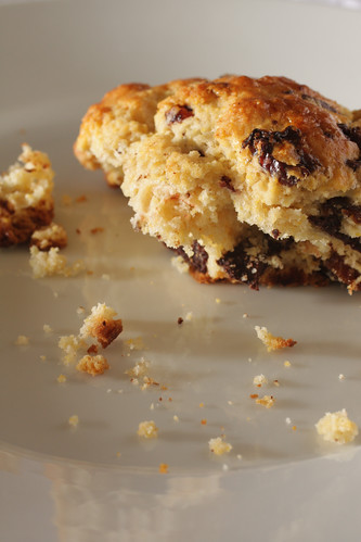 Chocolate Cherry Scones | by Madison Bistro