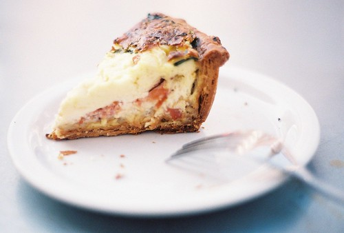 quiche from Tartine Bakery | by ornithes