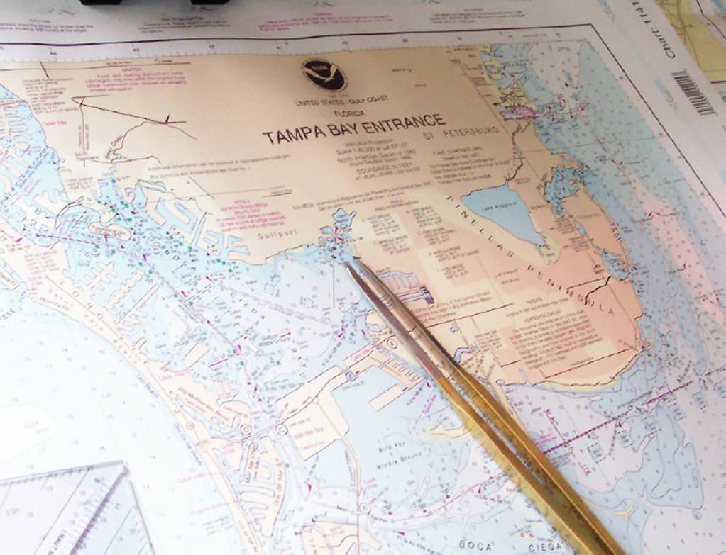 Marine Charts App: NOAA Nautical Chart: Tampa Bay Florida | NOAA nautical charu2026 | Flickr,Chart