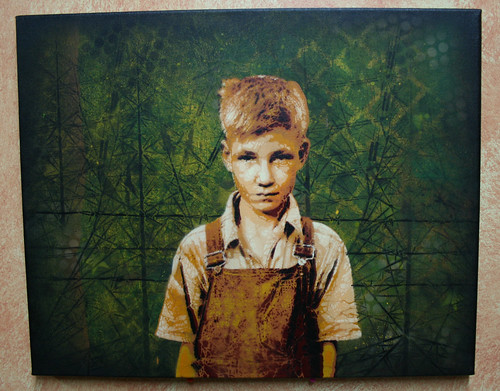 Depression Era Boy Canvas1 | by >tony<