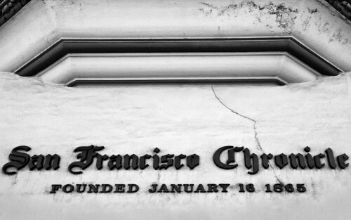 San Francisco Chronicle Building | Let's hope the ol' gal ...