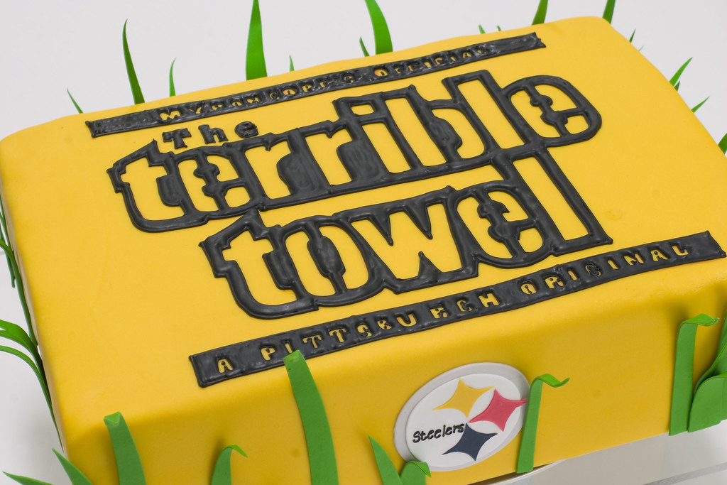Pittsburgh Steelers Terrible Towel Cake For More Cakes Vi Flickr